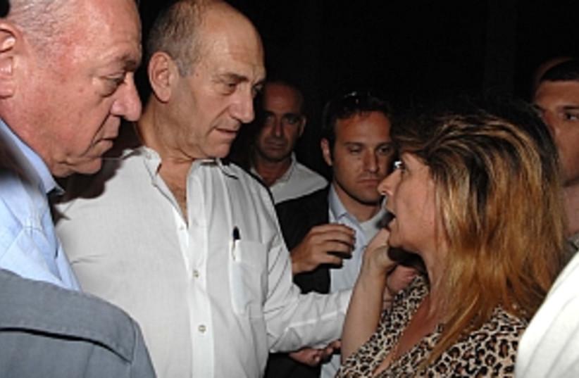 olmert sderot 298.88 (photo credit: GPO)