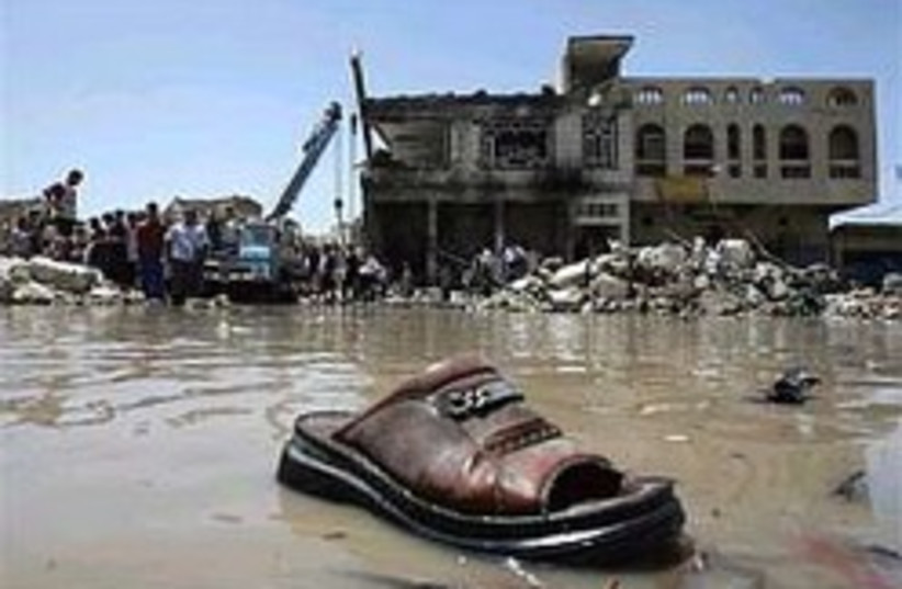 Iraq bomb shoe 248 88 (photo credit: AP [file])