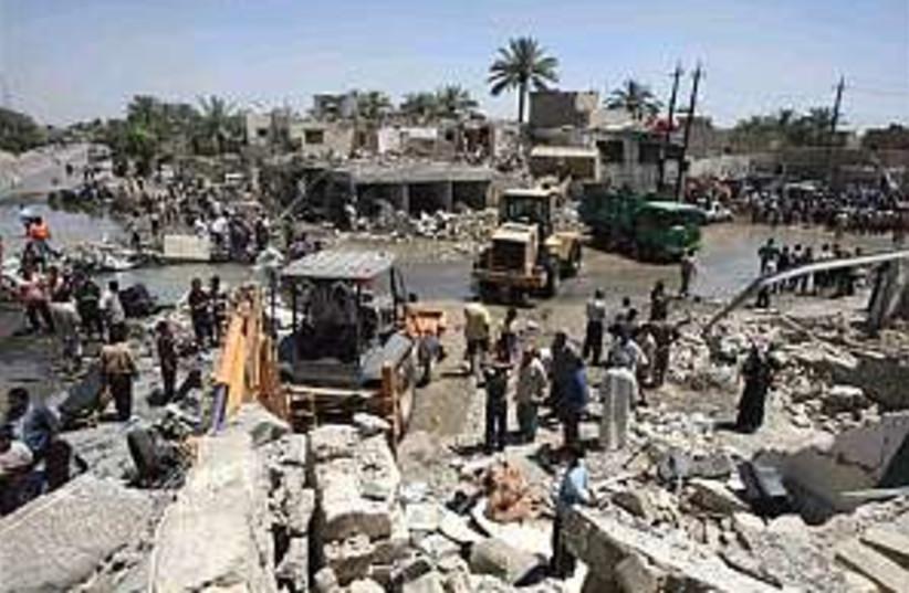 Iraq Bomb Rubble 298 88 (photo credit: AP [file])