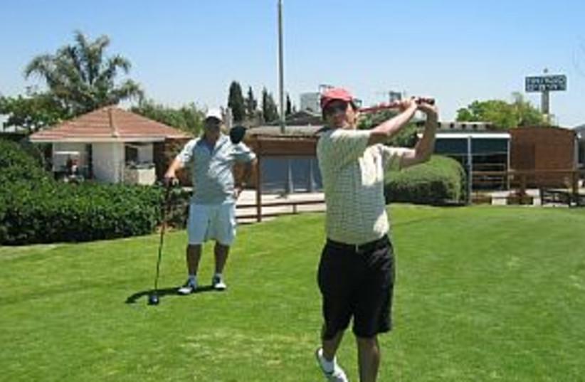 golf game wp 298.88 (photo credit: Courtesy Ga'ash Golf Club)