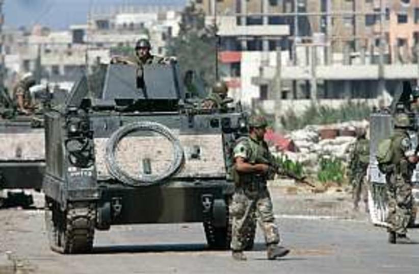Lebanon Nahr elBared 298 (photo credit: AP)