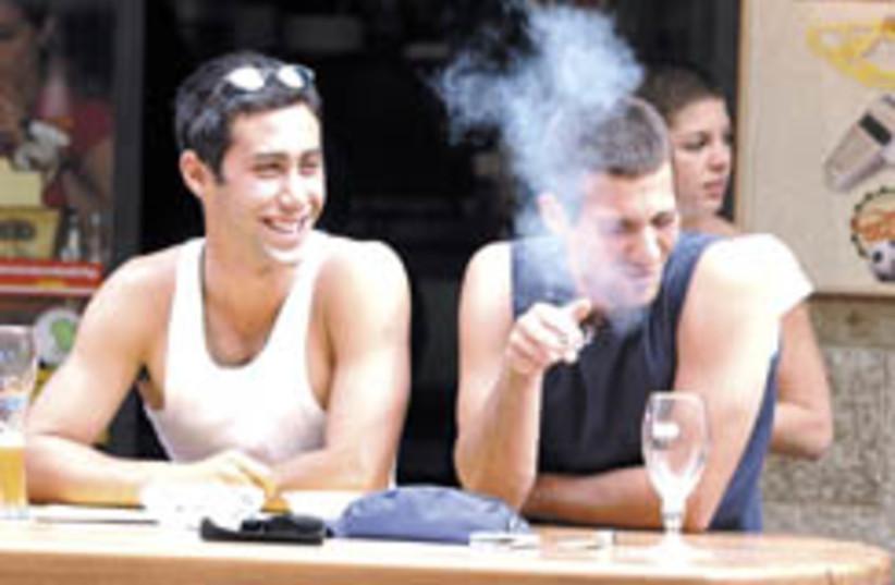 smoke  (photo credit: Ariel Jerozolimski)