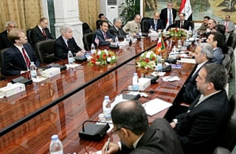iran us meeting 298 (photo credit: AP)