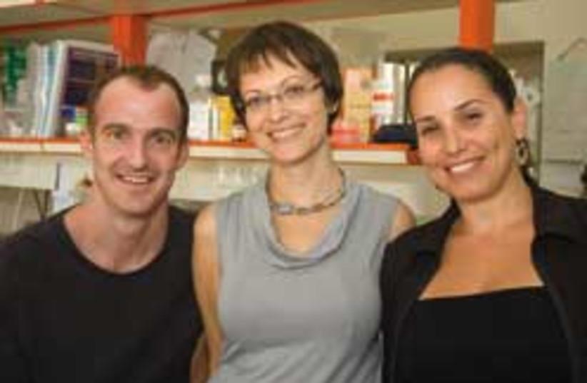 elzheimer team fit doctor 248.88 (photo credit: Courtesy Michal Ben Ami)