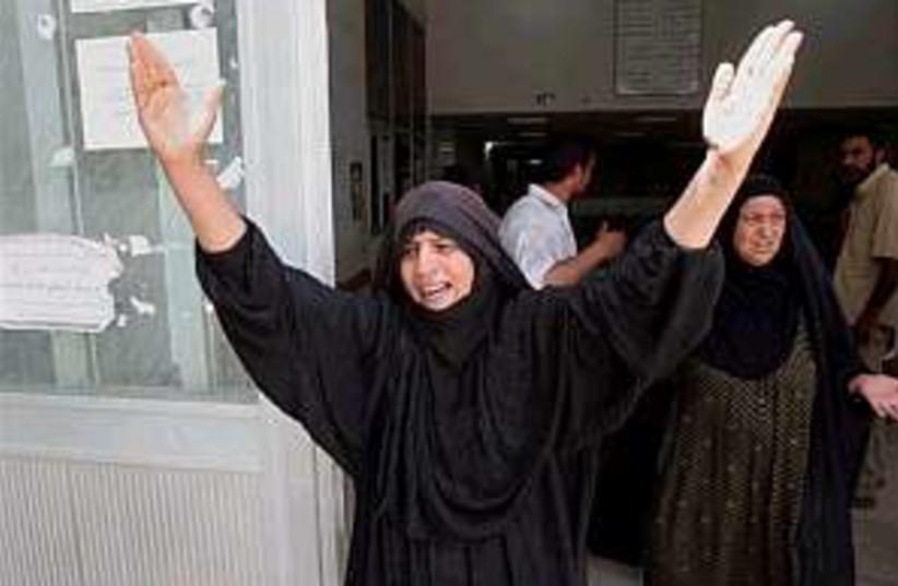 iraq bomb victim 298.8 (photo credit: AP)