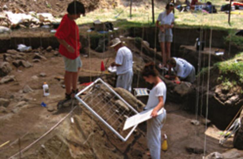 bnot yaacov archaeology 248.88 (photo credit: Gonen Sharon/HU)
