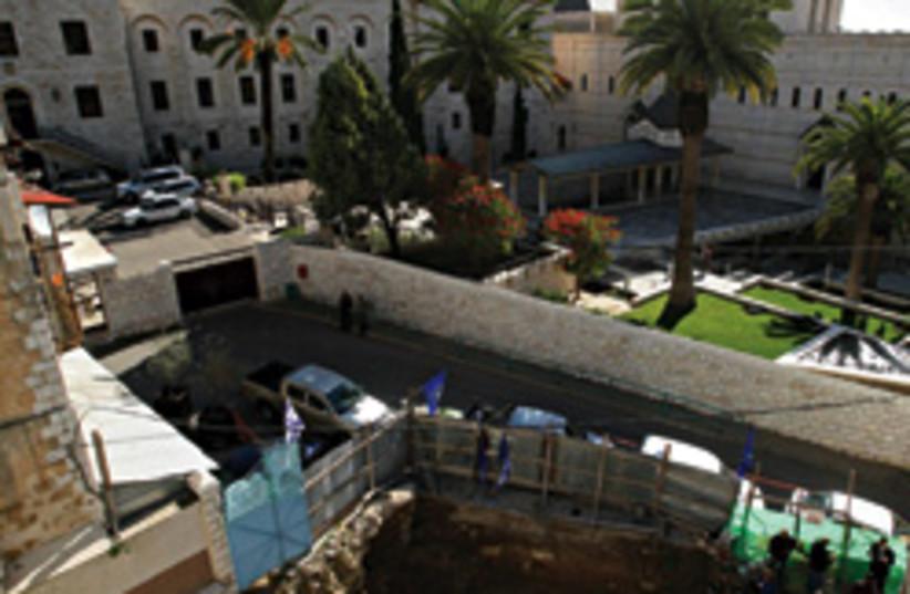 nazareth archaeology remains 248.88 (photo credit: AP)
