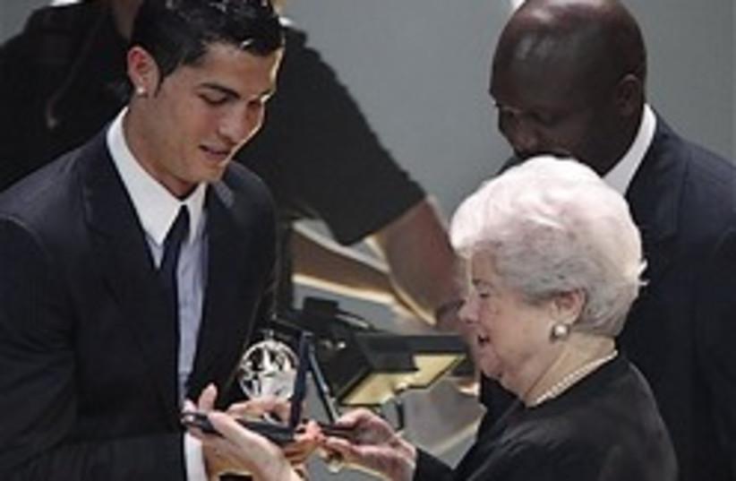 ronaldo award 248.88 AP (photo credit: )