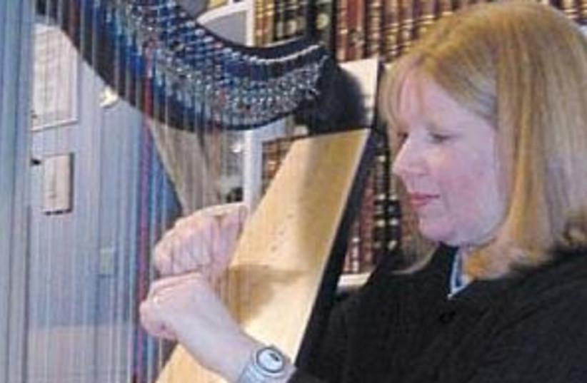 devorah green harp 298.8 (photo credit: Nicola Graham)