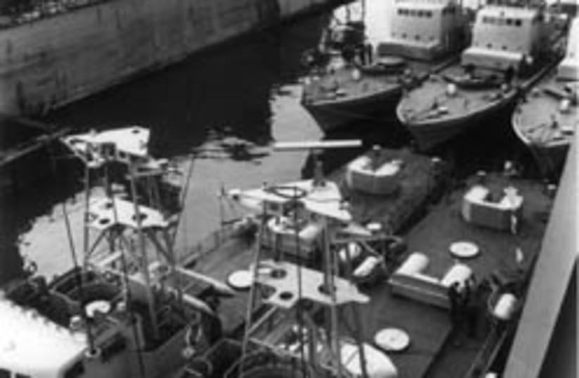 cherbourg five boats (photo credit: IPO)
