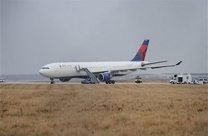 Delta airplane terror attempt 248.88 AP (photo credit: )