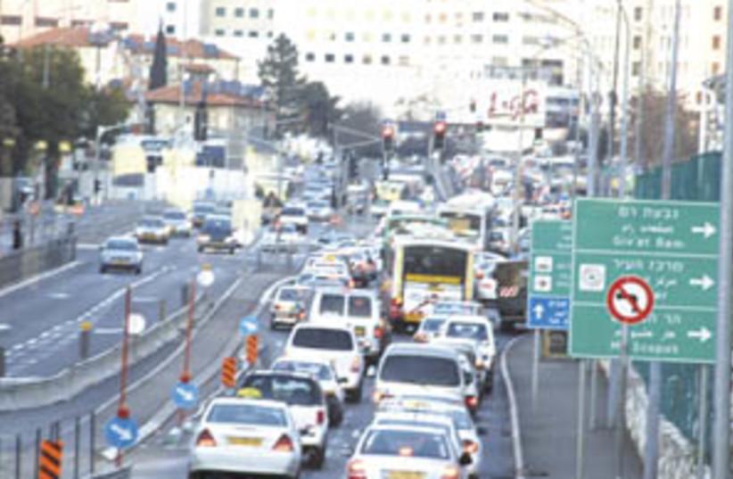 traffic (photo credit: Sarah Levin)
