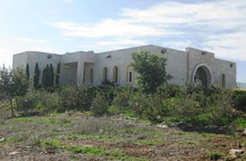 har bracha yeshiva building 248 88 (photo credit: Ben Hartman)