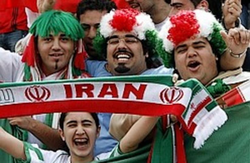 iranian soccer fans 248.88 (photo credit: AP)
