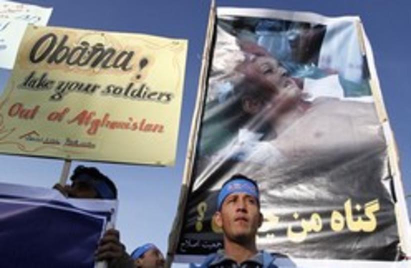 Afghanistan Protests 248 88 AP (photo credit: AP)