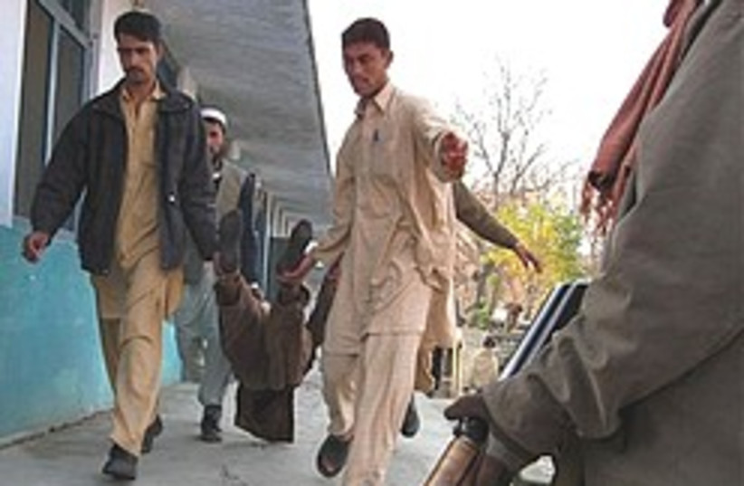 body of Pakistani terrorist 248.88 (photo credit: )