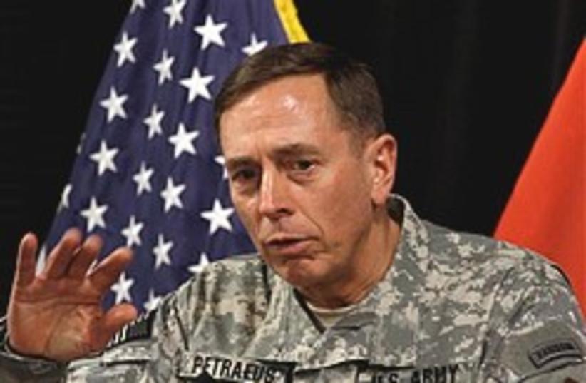 Petraeus in Baghdad 248.88 (photo credit: )