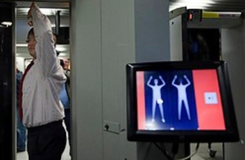 airport body scanner security 248.88 ap (photo credit: AP)