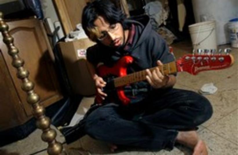 indian rock punk 248.88 (photo credit: )
