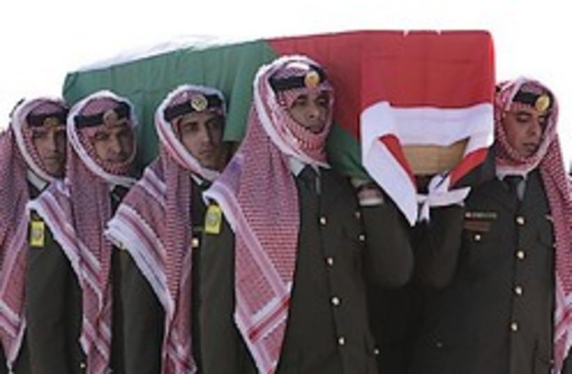 jordanian funeral 248.88 AP (photo credit: )