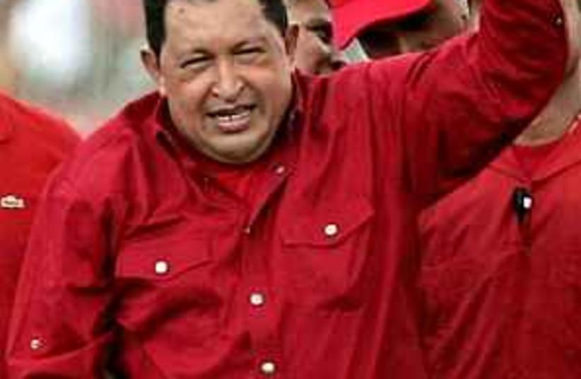 Chavez monkey wanker 298 (photo credit: AP)