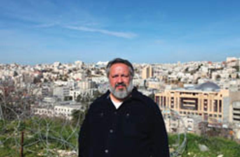 Sheikh Abdul Hadi Palazzi (photo credit: David Wilder-Hebron.com)