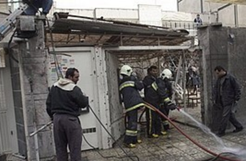 Iran bomb new (photo credit: AP)