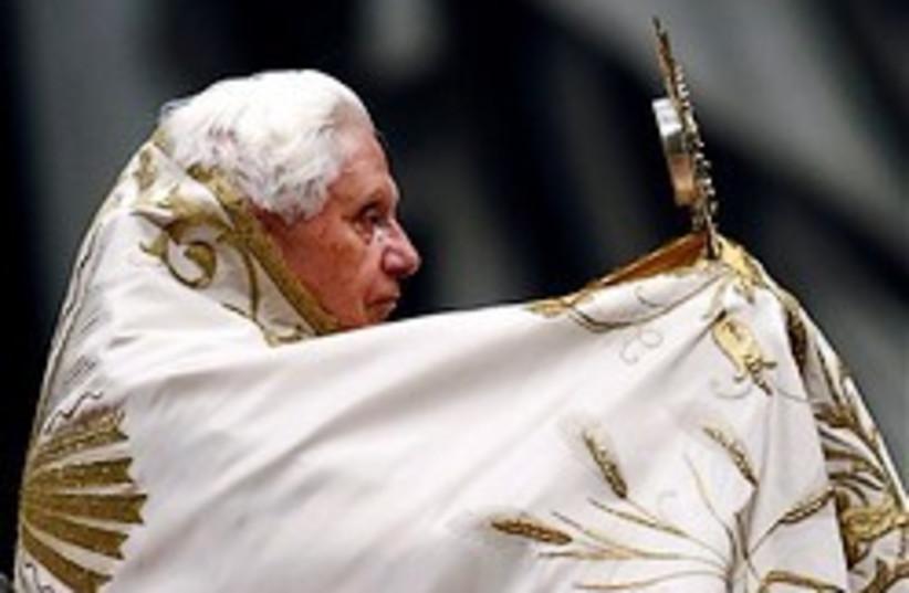 Pope Benedict XVI  (photo credit: AP)
