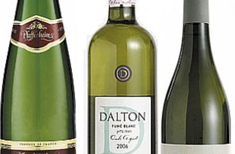 3 white wines 298 88 (photo credit: )