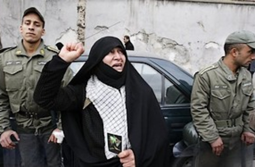 iranian woman opposition 311 (photo credit: AP)