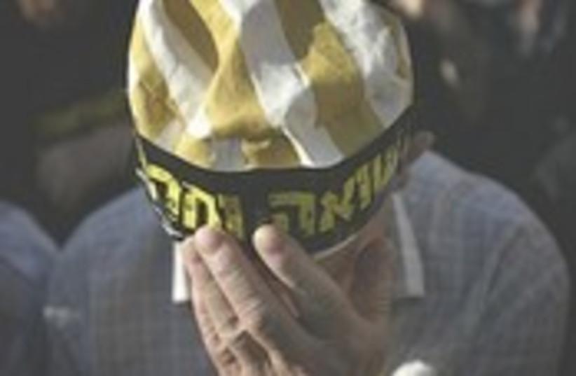 Holocaust survivor. (photo credit: AP)