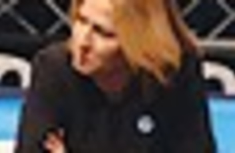 Tzipi Livni. (photo credit: AP)