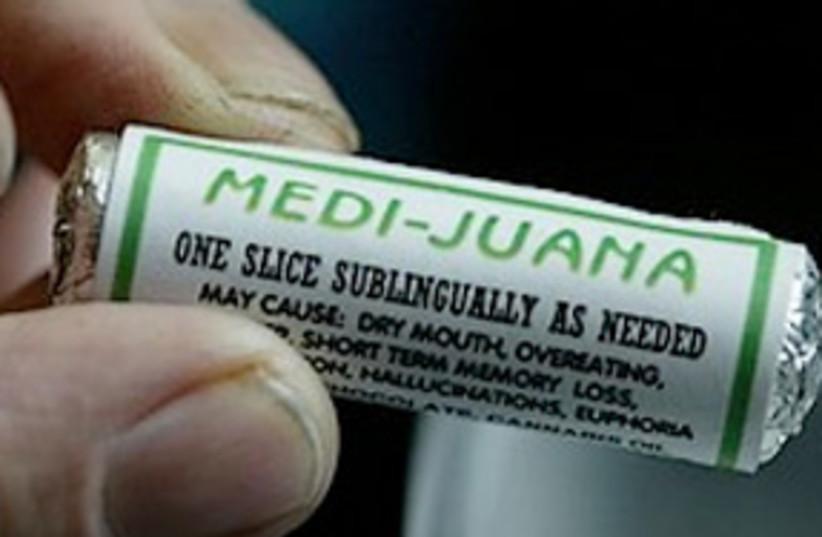 medical marijuana 311.187 (photo credit: Associated Press)