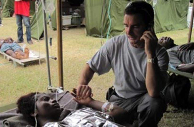 haiti idf hospital 311 (photo credit: E.B. Solomont)