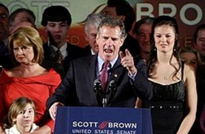 Scott Brown (photo credit: AP)