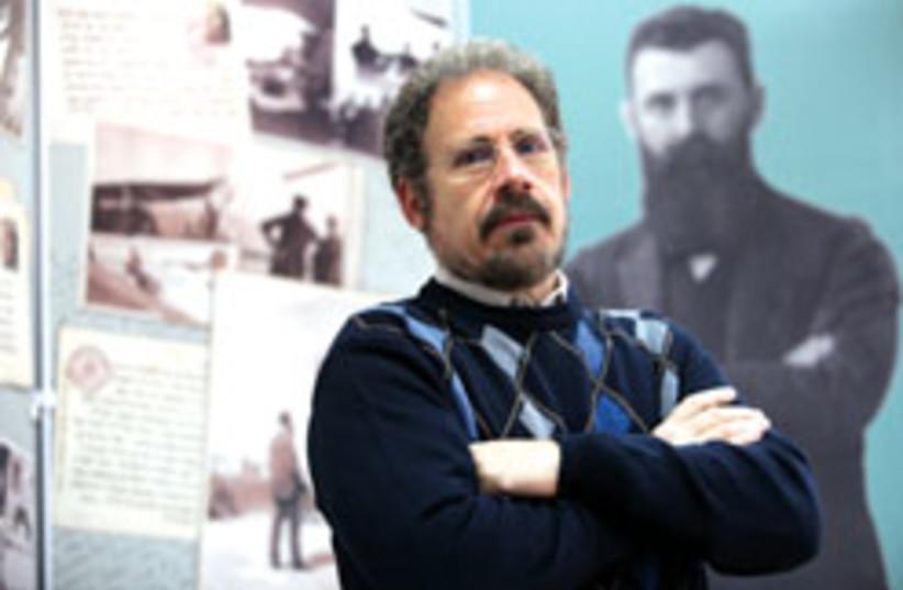 Dr. David Breakstone 311 (photo credit: Ariel Jerozolimski)