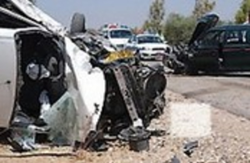 car accident 190.114 (photo credit: Ariel Jerozolimski)