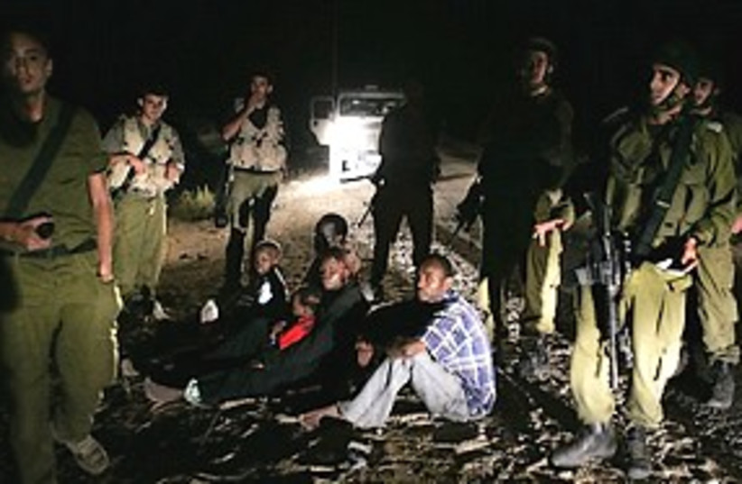 sudanese refugees IDF 311 (photo credit: AP)