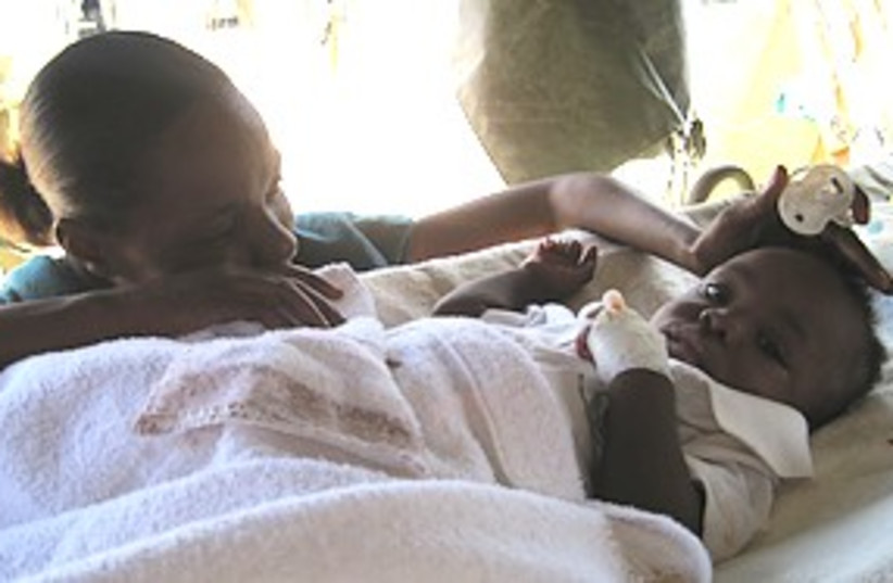 haiti survivors 311 (photo credit: E.B. Solomont)