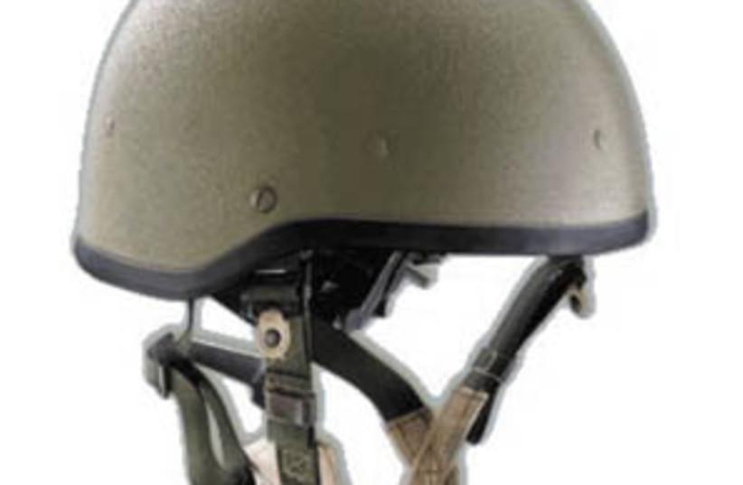 idf helmet 298 (photo credit: courtesy)