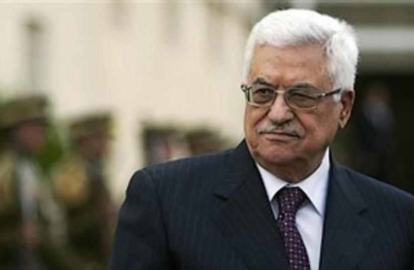 mahmoud abbas 311 (photo credit: AP)