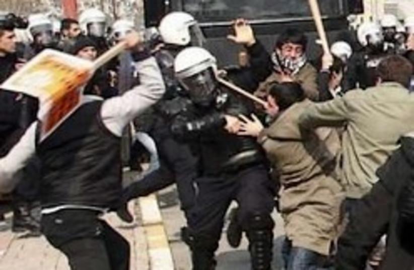 Turkish Police (photo credit: AP)