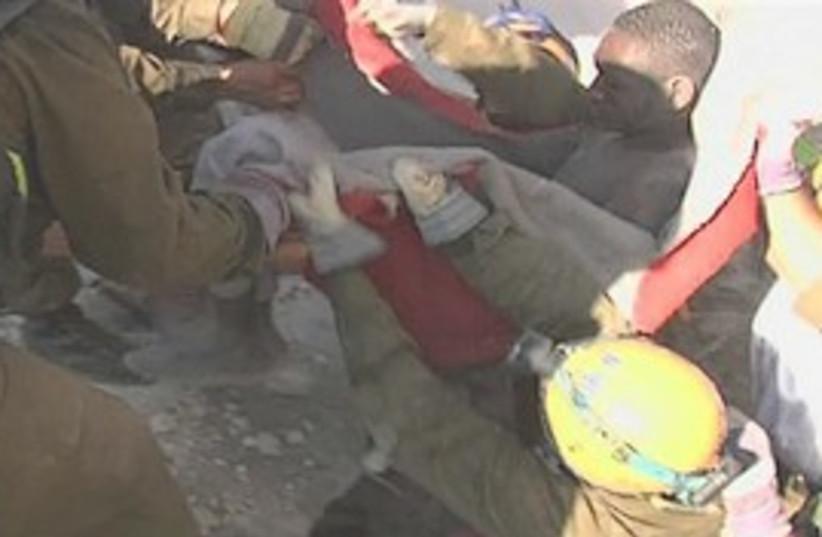 haiti rescue earthquake IDF (photo credit: AP)