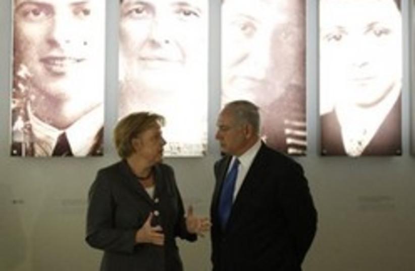 Netanyahu merkel berlin 311 (photo credit: AP)