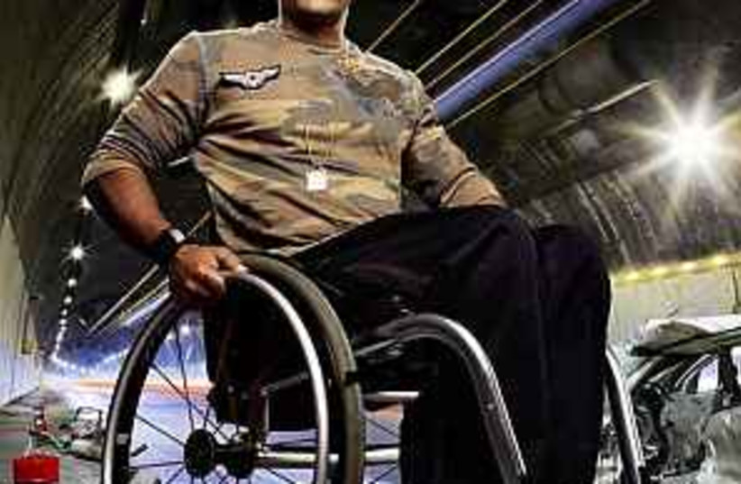 disabled athlete 298 (photo credit: )