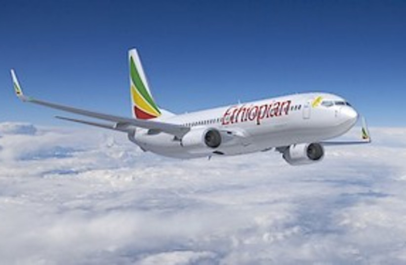 Ethiopian Airlines 737-800 - 311 (photo credit: AP)