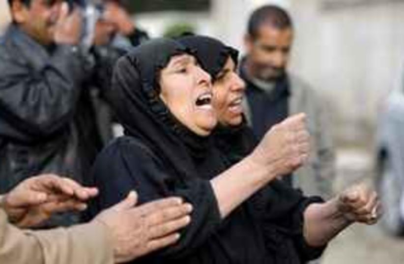 Suicide bomb Baghdad (photo credit: AP)