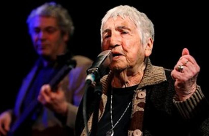 Esther Bejarano (photo credit: hip hop survivor Auschwitz)