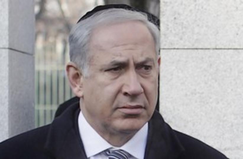 netanyahu auschwitz 311 (photo credit: AP)