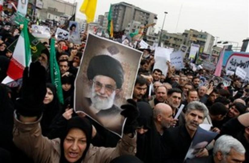 supreme leader Ayatollah Ali Khamenei (photo credit: AP)